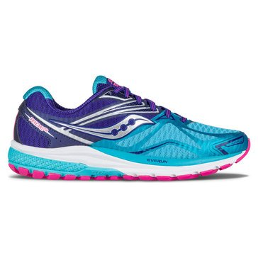 Saucony Ride 9 (Wide) Men's Running Shoe Navy/ Blue/ Pink