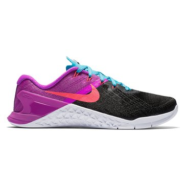 Nike Metcon 3 Women's Training Shoe Black/Racer Pink-Hyper Violet