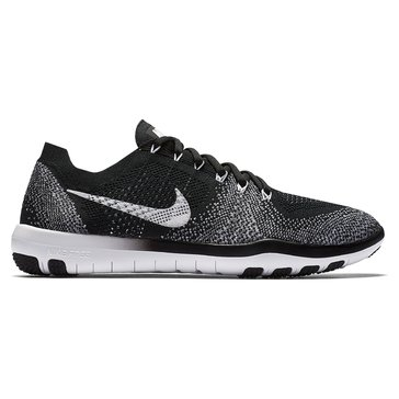Nike Free Focus Flykit 2 Women's Training Shoe Black/ White