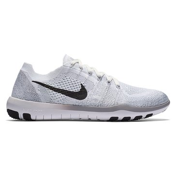 Nike Free Focus Flykit 2 Women's Training Shoe White/ Black/ Wolf Grey
