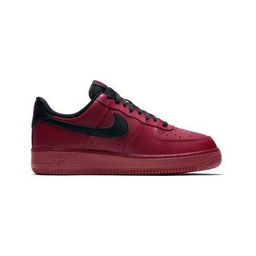 Nike Air Force 1 Low Men's Basketball Shoe Team Red/ Black