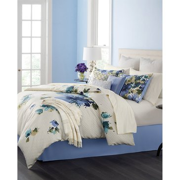Martha Stewart Collection Meadow Bouquet 14-Piece Comforter Set - Queen