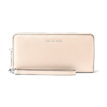 Michael Kors Mercer Travel Continental Wallet Cement