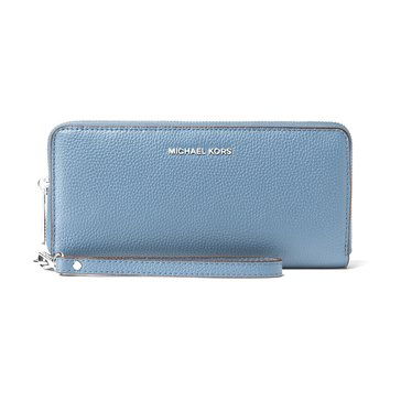 Michael Kors Mercer Travel Continental Wallet Denim