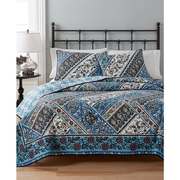 Martha Stewart Collection Antique Market Quilt - King
