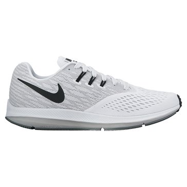 Nike Zoom Winflo 4 Men's Running Shoe White/ Black/ Wolf Grey