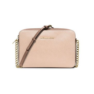 Michael Kors Jet Set Travel Large East West Crossbody Pink Fawn