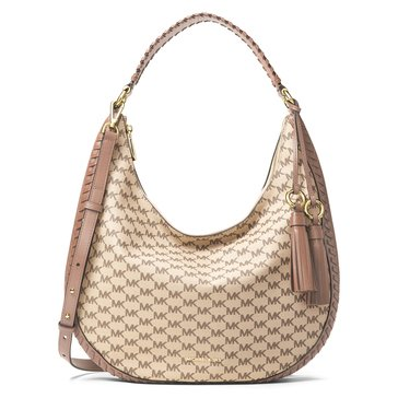 Michael Kors Lauryn Large Shoulder Natural Fawn