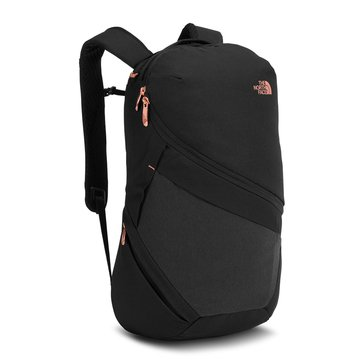 The North Face Women's Aurora Backpack - BlackHeather/BurntCoral