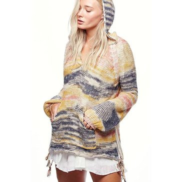 Free People Space Dye Snowcone Hoodie Pullover