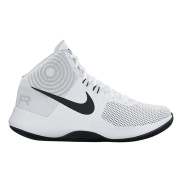 Nike Air Precision Men's Basketball Shoe White/ Black/ Cool Grey/ Pure Platinum