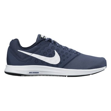 Nike Downshifter 7 Men's Running Shoe Midnight Navy/ White/ Dark Obsidian/ Black