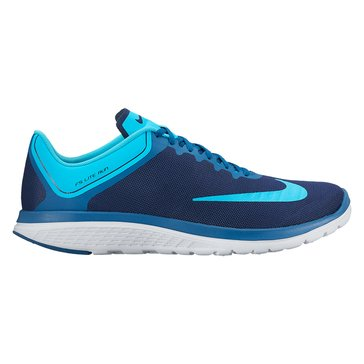 Nike FS Lite Run 4 Men's Running Shoe Binary Blue/ Chlorine Blue