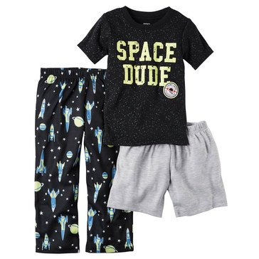 Carter's Baby Boys' 3-Piece Sleepwear Set, Space Dude