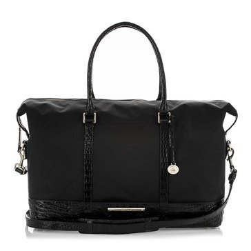 Brahmin Duxbury Weekender Travel Bag Black Melbourne