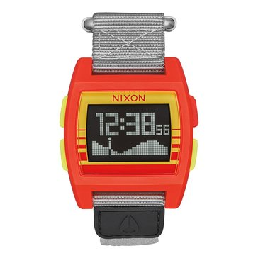 Nixon Unisex Base Tide Sunrise Nylon Watch, 38mm