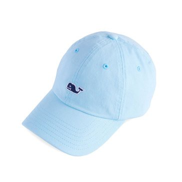 Vineyard Vines Classic Baseball Hat Whale Logo in Crystal Blue