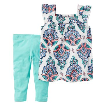 Carter's Toddler Girls' 2-Piece Gauze Legging Set