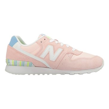 New Balance WL696OSB Women's Running Shoe Sunrise Glo/ White