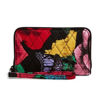 Vera Bradley Grab and Go Wristlet Havana Rose