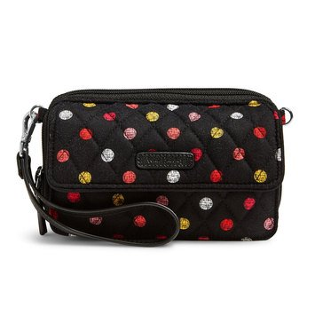 Vera Bradley All In One Crossbody Havana Dots