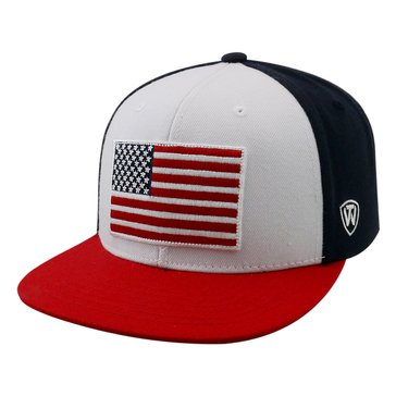 Top of the WOrld US Navy US Flag States N Stripes Cap