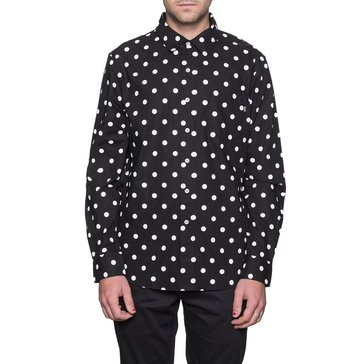 Huf Men's Bob Long Sleeve Shirt