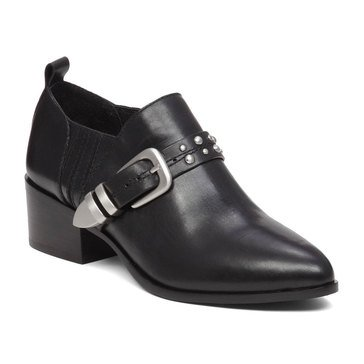 BCBG Loela Women's Slip On Buckle Shoe Black