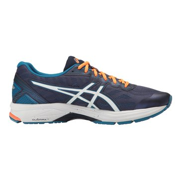 Asics GT-1000 5 Men's Running Shoe Indigo Blue/ Snow/ Hot Orange