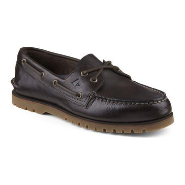 Sperry Top-Sider Authentic Original Mini Lug 2 Men's Casual Slip On Shoe Brown