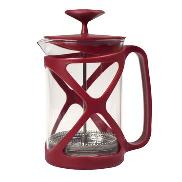 Primula Tempo 6-Cup Coffee Press, Red