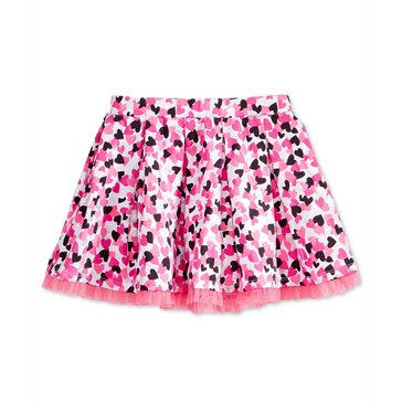 Epic Threads Little Girls' Heart Pleated Skirt, Pink