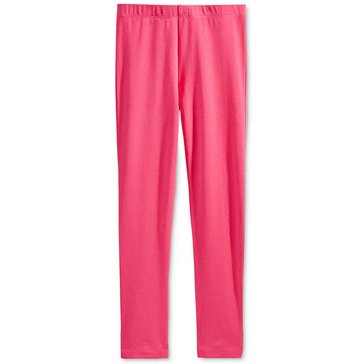 Epic Threads Little Girls' Solid Leggings, Pink