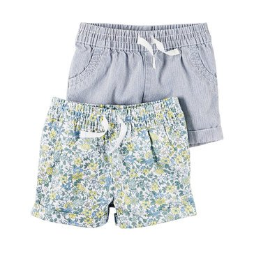 Carter's Baby Girls' 2-Piece Shorts Set