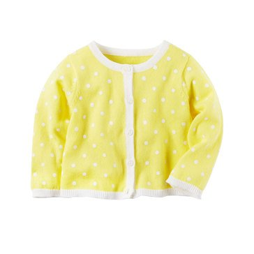 Carter's Baby Girls' Polka Dot Cardigan