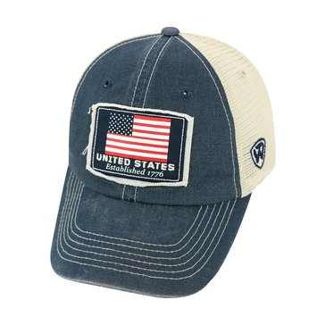 Top Of The  World U.S. Navy USA 214-2 Dirty Mesh Cap