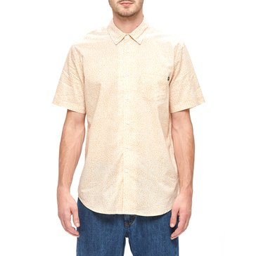 Obey Men's Untamed Short Sleeve Print Woven Shirt