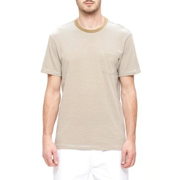 Obey Men's Wisemaker Pocket Short Sleeve YD Crew Knit Tee Shirt