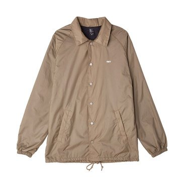 Obey Men's Lo-Fi Coaches Nylon Jacket