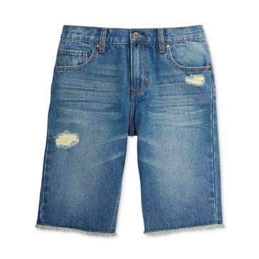 Epic Threads Little Boys' Fryd R&R Denim Shorts, Medium Wash