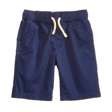 Epic Threads Little Boys' Canvas Pull-on Shorts, Medieval Blue