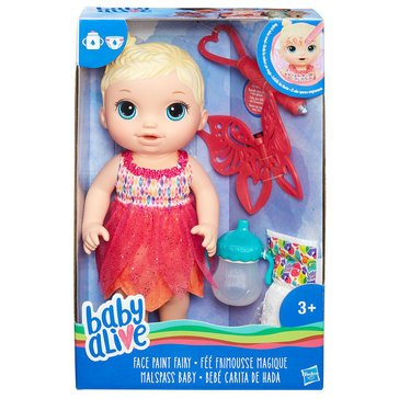 Baby Alive Face Paint Fairy, Blonde