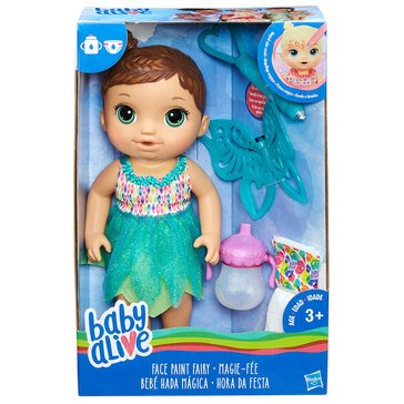 Baby Alive Face Paint Fairy, Brunette