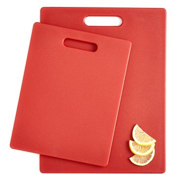 Martha Stewart Collection Set of 2 Gripper Boards, Red