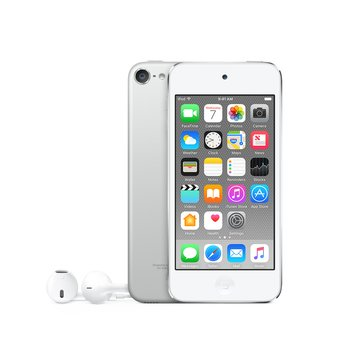 Apple iPod Touch - 128GB - White & Silver (MKWR2LL/A)
