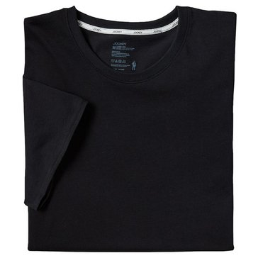 Jockey Stay Cool Plus 3-Pack Men's T-Shirt - Black