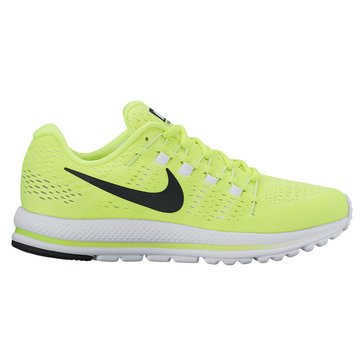 Nike Air Zoom Vomero 12 Men's Running Shoe Volt/ Black/ Barely Volt/ White