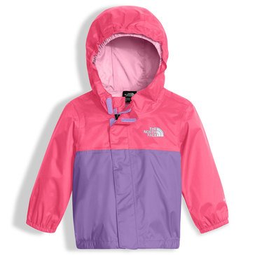 The North Face Baby Girls' Baby Girls' Tailout Rain Jacket, Honeysuckle Pink