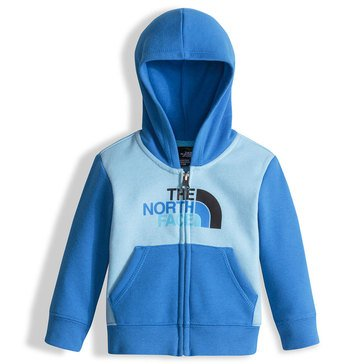 The North Face Baby Boys' Logowear Full Zip Hoodie, Sky Blue