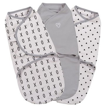 Summer Infant SwaddleMe 3-Pack, Small, xo